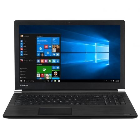 "PORTATIL TOSHIBA SATELLITE PRO A50-D-124 - I5-7200U 2.5GHZ - 8GB - 256GB SSD - 15.6""/39.6CM LED HD - DVD RW - HDMI - WIFI AC/AGN"