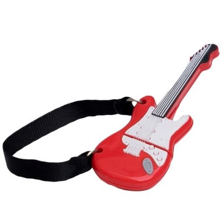 PENDRIVE TECH ONE TECH GUITARRA RED ONE 32GB - USB 2.0 | Pendrive diseño especial