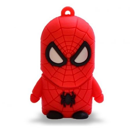 PENDRIVE TECH ONE TECH HEROES SUPER SPIDER 16GB USB 2.0 | Pendrive personajes