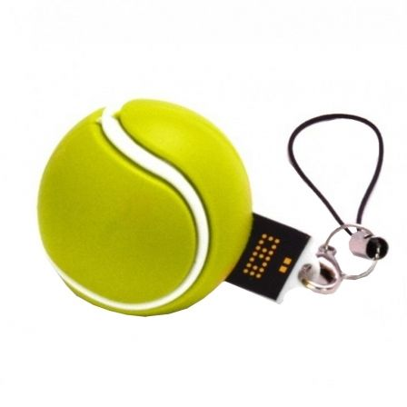 PENDRIVE TECH ONE TECH PELOTA DE TENIS 16GB USB 2.0 | Pendrive deportes
