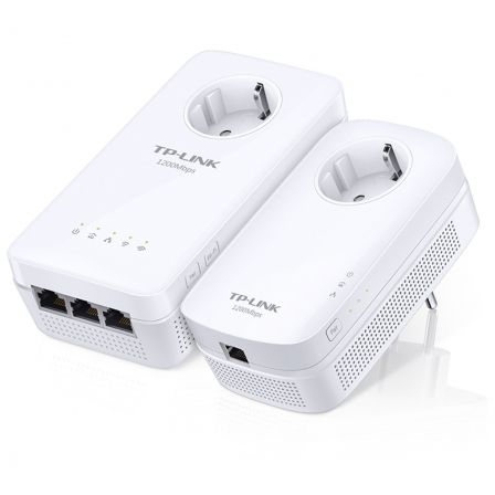 KIT POWERLINE WIFI AC WPA8630P - DOBLE BANDA WIFI CON VELOCIDAD 1200MBPS - HOMEPLUG AV2 - 2X2 MIMO - AUTOSINCRONIZACION | Dispositivos powerline (plc)