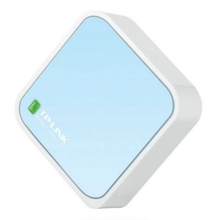 ROUTER INALAMBRICO TP-LINK TL-WR802N - NANO N 300MBPS - 1*WAN/LAN 10/100MBPS - ALIMENTACION MICRO USB | Router wifi