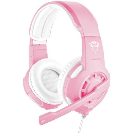 AURICULARES CON MICROFONO TRUST GAMING GXT 310P RADIUS PINK - DRIVERS 40MM - MICROFONO - CABLE 1M PARA CONSOLAS / ALARGADOR 1M P | Gaming - auriculares y microfonos