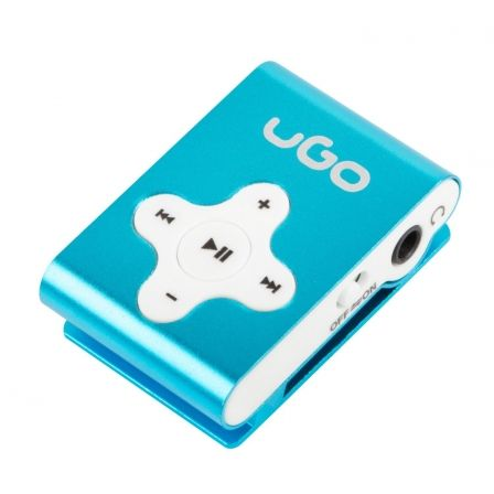 REPRODUCTOR MP3 BLUE UGO UMP-1021 - MICROSD HASTA 32GB - MP3/WMA - CLIP | Reproductores de mp3