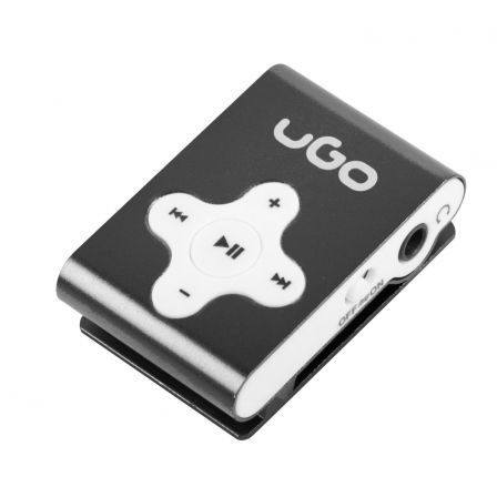 REPRODUCTOR MP3 BLACK UGO UMP-1022 - MICROSD HASTA 32GB - MP3/WMA - CLIP | Reproductores de mp3