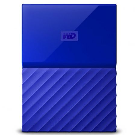 "DISCO DURO EXTERNO WESTERN DIGITAL 4TB AZUL MY PASSPORT WORLDWIDE - 2.5""/6.3CM - SOFTWARE WD BACKUP - WD SECURITY - WD UTILITIES"