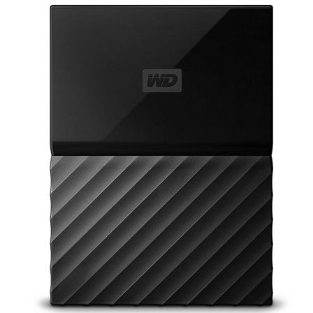 "DISCO DURO EXTERNO WESTERN DIGITAL 2TB MY PASSPORT WORLDWIDE NEGRO - 2.5""/6.3CM - SOFTWARE WD BACKUP - WD SECURITY - WD UTILITIE 
