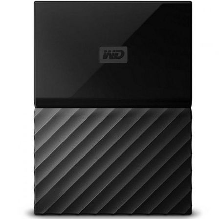 "DISCO DURO EXTERNO WESTERN DIGITAL 2TB MY PASSPORT NEGRO - 2.5""/6.3CM - SOFTWARE WD BACKUP - WD SECURITY - WD UTILITIES - USB 3."