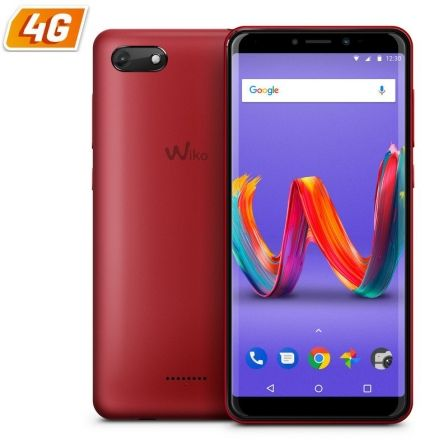 "SMARTPHONE MOVIL WIKO HARRY 2 CHERRY RED - 5.45""/12.85CM IPS - QC CORTEX A53 1.3GHZ - 16GB - 2GB RAM - CAMARA 13/5MP - ANDROID 8 