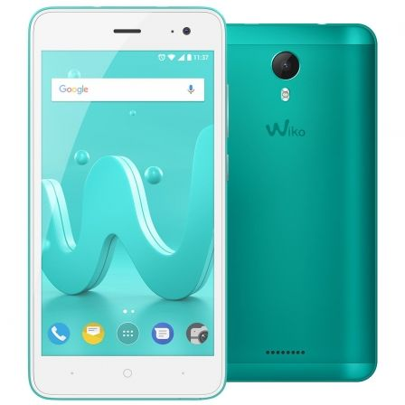 "SMARTPHONE WIKO JERRY 2 BLEEN - 5""/12.7CM IPS - CAMARA 5/5MP - QC CORTEX A7 1.3GHZ - 16GB - 1GB RAM - ANDROID7 - DUALSIM - BAT25 