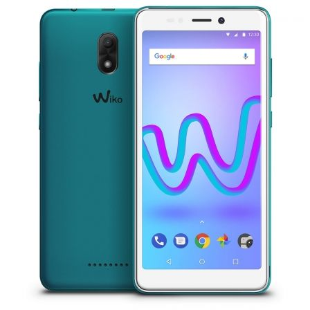 "SMARTPHONE WIKO JERRY 3 BLEEN - 5.45""/12.85CM IPS - 18:9 - CAMARA 5/5MP - QC CORTEX A7 1.3GHZ - 16GB - 1GB RAM - ANDROID 8 - DUA 