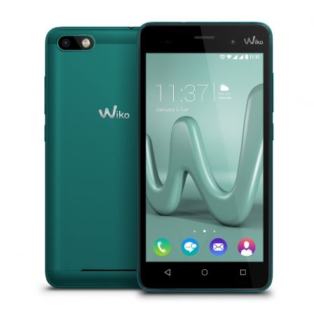 "SMARTPHONE MOVIL WIKO LENNY 3 - BLEEN - 5""/12.7CM HD IPS - CAMARA 8/5MP - QC 1.3GHZ - 16GB - 1GB RAM - ANDROID6.0 - BT - BAT2000 