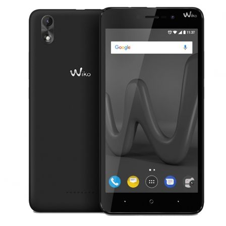"SMARTPHONE WIKO LENNY 4 PLUS BLACK - 5.5""/13.9CM IPS - CAMARA 8/5MP - QC CORTEX A7 1.3GHZ - 16GB - 1GB RAM - ANDROID7.0 - DUALSI 