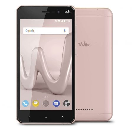 "SMARTPHONE MOVIL WIKO LENNY 4 ROSE GOLD - 5""/12.7CM IPS - CAMARA 8/5MP - QC CORTEX A7 1.3GHZ - 16GB - 2GB RAM - ANDROID7.0 - DUA 