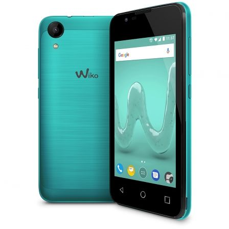 "SMARTPHONE MOVIL WIKO SUNNY 2 BLEEN - 4""/10.16CM - CAMARA 5MP/2MP - QC 1.2GHZ - 8GB - 512MB RAM - ANDROID 6 - DUAL SIM - BAT 130 