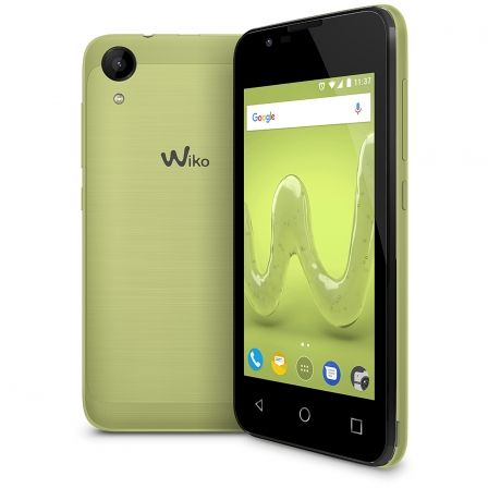 "SMARTPHONE MOVIL WIKO SUNNY 2 LIME - 4""/10.16CM - CAMARA 5MP/2MP - QC 1.2GHZ - 8GB - 512MB RAM - ANDROID 6 - DUAL SIM - BAT 1300 