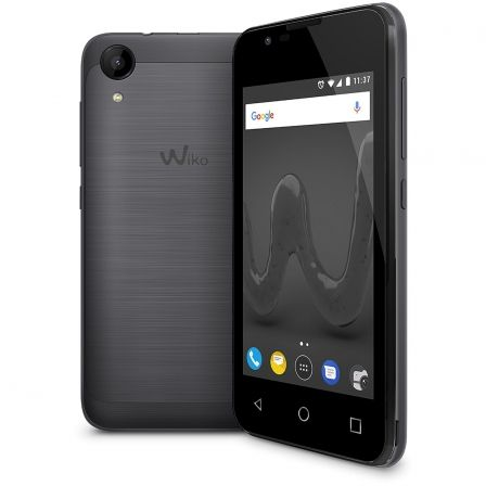 "SMARTPHONE WIKO SUNNY 2 SPACE GREY - 4""/10.16CM - CAMARA 5MP/2MP - QC 1.2GHZ - 8GB - 512MB RAM - ANDROID 6 - DUAL SIM - BAT 1300 