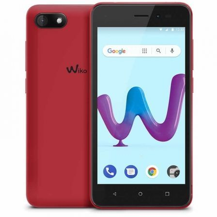"SMARTPHONE MOVIL WIKO SUNNY3 CHERRY RED - 5""/12.7CM - CAMARA 5MP/2MP - QC 1.3GHZ - 8GB - 512MB RAM - OREO GO - DUAL SIM - BAT 20 
