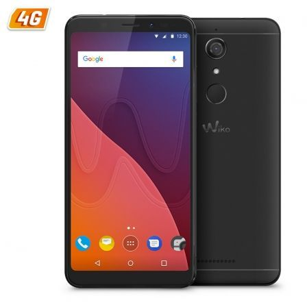 "SMARTPHONE MOVIL WIKO VIEW NEGRO - 5.7""/14.47CM HD - QC 1.4GHZ CORTEX A53 - 3GB - 16GB - CAMARA 16/13MP - 4G - ANDROID 7.1 - BT 