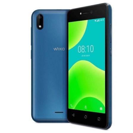 "SMARTPHONE MOVIL WIKO Y50 BLUE - 5""/12.7CM - CAMARA 5MP/5MP - QC 1.3GHZ - 16GB - 1GB RAM - OREO GO - DUAL SIM - BAT 2200MAH"