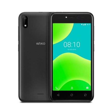 "SMARTPHONE MOVIL WIKO Y50 DARK GREY - 5""/12.7CM - QC 1.3GHZ - 1GB - 16GB - CAMARA 5/5MP - 3G - ANDROID OREO GO EDITION - BT - GP"