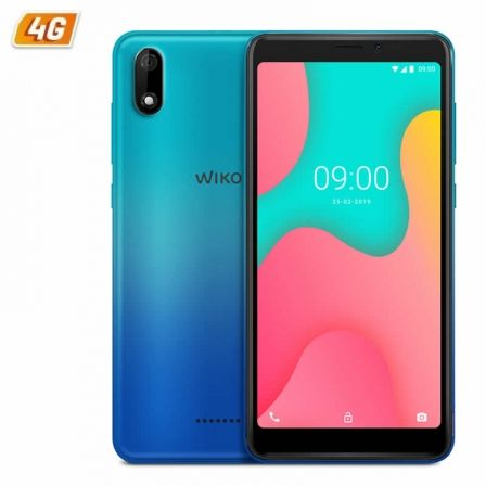 "SMARTPHONE MOVIL WIKO Y60 BLEEN - 5.45""/13.8CM FWVGA+ - QC 1.3GHZ CORTEX A53 - 1GB - 16GB - CAMARA 5/5MP - 4G - ANDROID 9 - BT - 