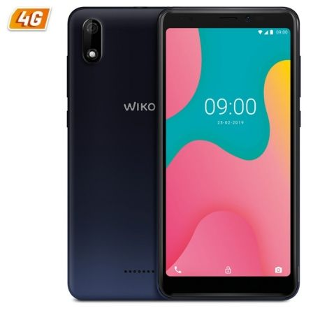 "SMARTPHONE MOVIL WIKO Y60 BLUE - 5.45""/13.8CM FWVGA+ - QC 1.3GHZ CORTEX A53 - 1GB - 16GB - CAMARA 5/5MP - 4G - ANDROID 9 - BT - 