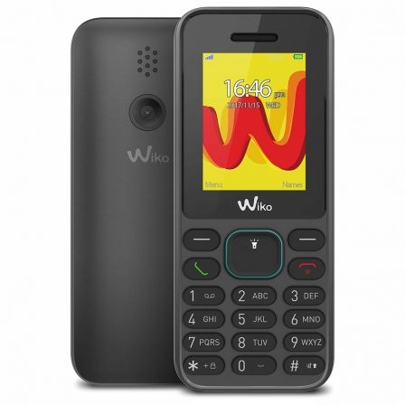 "TELEFONO MOVIL WIKO LUBI 5 BLACK - DISPLAY 1.8""/4.5CM - DUAL SIM - CAMARA QVGA - SLOT MICROSD (HASTA 32GB) - RADIO FM - BT - BAT 