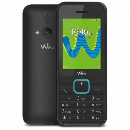 "TELEFONO MOVIL WIKO RIFF 3 BLACK - DISPLAY 2.4""/6CM - DUAL SIM - CAMARA VGA - SLOT MICROSD (HASTA 32GB) - RADIO FM - BT - BAT 80 