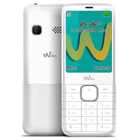"TELEFONO MOVIL WIKO RIFF 3 PLUS WHITE - DISPLAY 2.4""/6CM - DUAL SIM - CAMARA VGA - RADIO FM - MP3 - BT - MANOS LIBRES - BAT. 100 
