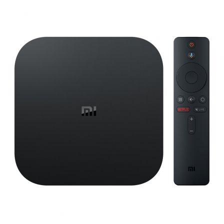 ANDROID TV XIAOMI MI TV BOX S NEGRO - QC - 2GB DDR3 - 8GB EMMC - RESOLUCION 4K - WIFI - BT - HDMI - USB - ANDROID 8.1 - CONTROL | Android tv - miracast