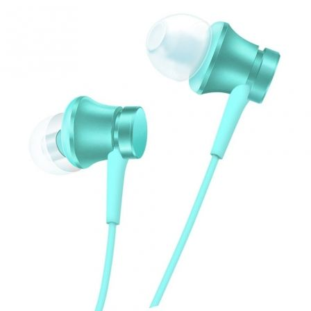 AURICULARES INTRAUDITIVOS XIAOMI MI IN-EAR BLUE 14277 - 5MW - CABLE PLANO - CLAVIJA 3.5MM