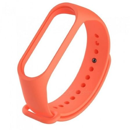 CORREA ORIGINAL XIAOMI MI BAND 3 SILICONA COLOR NARANJA