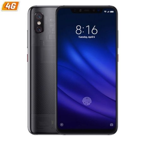 "SMARTPHONE MOVIL XIAOMI MI 8 PRO BLACK - 6.21""/15.77CM FHD+ - OC SNAPDRAGON 845 - 8GB RAM - 128GB - CAM (12+12)/20MP - 4G - DUAL 