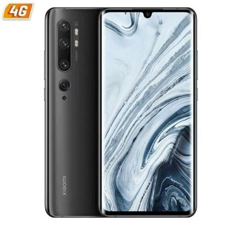 "SMARTPHONE MOVIL XIAOMI MI NOTE 10 BLACK - 6.47""/16.43CM - SNAPDRAGON 730 - 6GB RAM - 128GB - CAM (108+12+20+5+2)/32 MP - 4G - D 