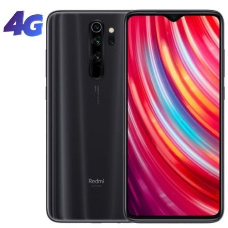 "SMARTPHONE MOVIL XIAOMI REDMI NOTE 8 PRO GRIS MINERAL - 6.53""/16.58CM - MEDIATEK G90T - 6GB RAM - 128GB - CAM (64+8+2+2)/20 MP - 