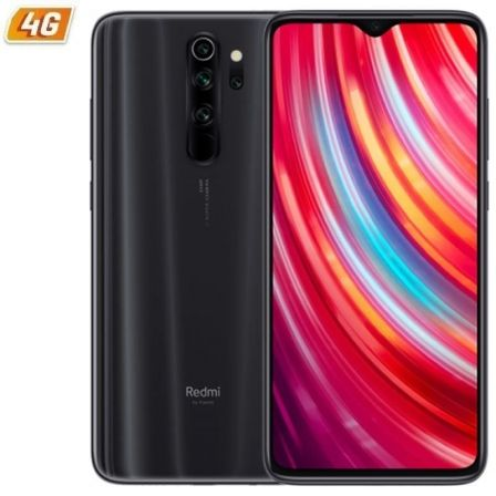 "SMARTPHONE MOVIL XIAOMI REDMI NOTE 8 PRO GRIS MINERAL - 6.53""/16.58CM - MEDIATEK G90T - 6GB RAM - 64GB - CAM (64+8+2+2)/20 MP - 
