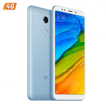 "SMARTPHONE MOVIL XIAOMI REDMI 5 LIGHT BLUE - 5.7""/14.4CM - OC 1.8GHZ - 3GB RAM - 32GB - CAM 12/5MP - 4G - DUAL SIM - BAT 3300MAH 