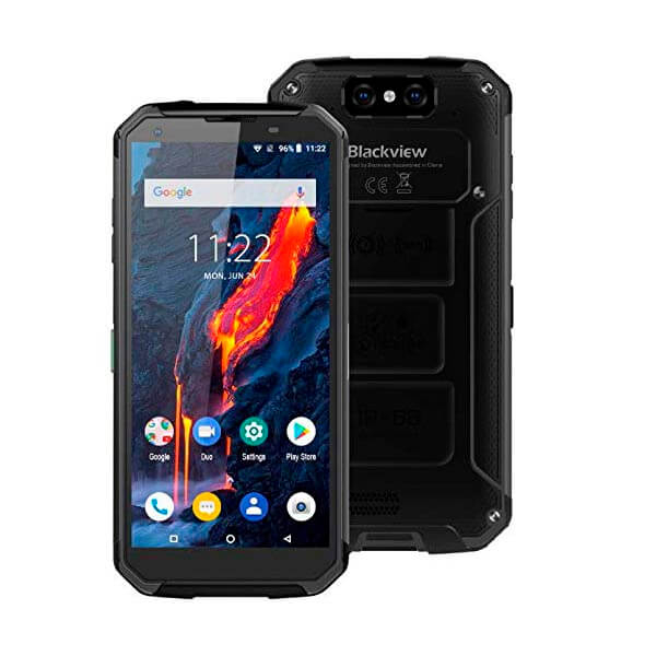 BLACKVIEW BV9500 PLUS 64GB NEGRO DUAL SIM | Móviles libres